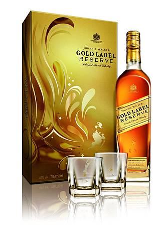 JOHNNIE WALKER金牌珍藏蘇格蘭威士忌禮盒