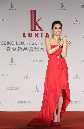 SEIKO首度邀請台灣女星林依晨擔任LUKIA海外代言人