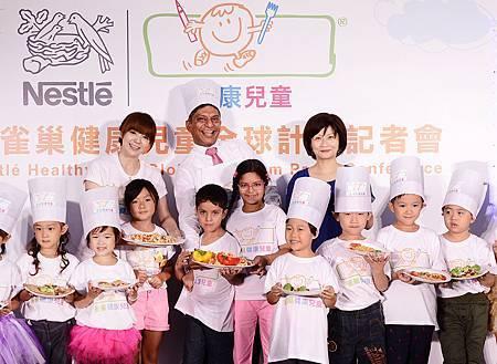 雀巢健康兒童全球計畫於2013年再推二年升級方案
