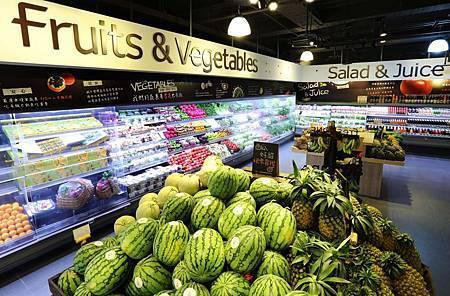 freshONE嚴選生鮮、天然健康蔬果,讓顧客健康看得到、吃得更安心