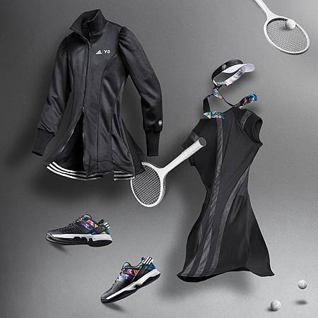 adidas 首度結合旗下兩個品牌,分別代表頂尖運動專業的adidas Performance與在運動時尚界無法取代的Y-3