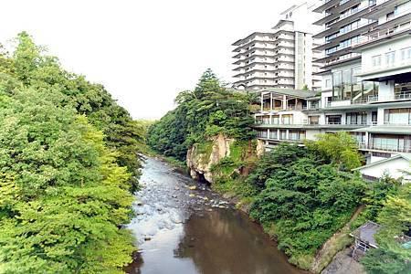 圖8: 秋保温泉位於名取川上遊處的溫泉地,吸引多數遊客的到來.jpg