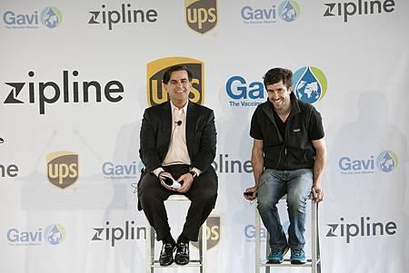 【新聞參考圖片】UPS全球基金會總裁Eduardo Martinez和Zipline執行長Keller Rinaudo.jpg