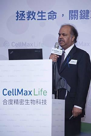 合度生技 CellMax Life Co-Founder %26; CEO Mr. Atul Sharan 表示透過個人化精準的血液檢測技術,以喚起民眾對於癌症早期預防的重視,讓每個人都可以掌控他們自己的健康.jpg