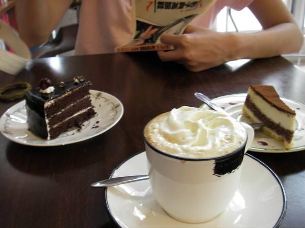 咖啡廳的小食物