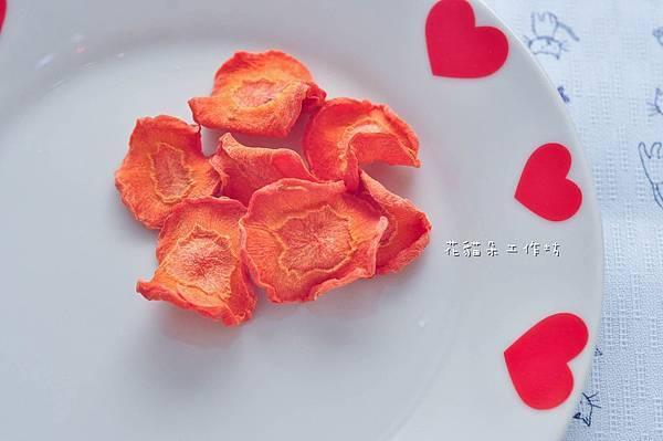 像花朵一樣美麗的紅蘿蔔乾