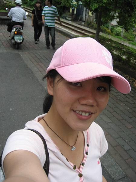 我的粉紅帽帽