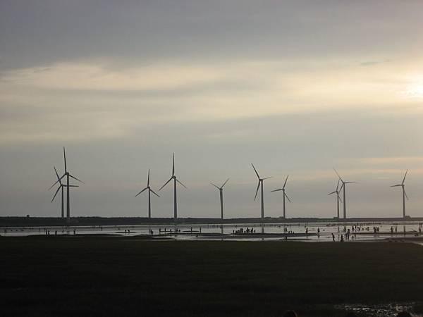 風力發電風車群
