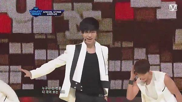 【HD 720p Live】120802 Super Junior - Sexy, Free & Single + SPY (Special Stage) @ M! Countdown - YouTube.mp40398