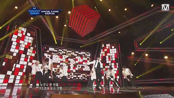 【HD 720p Live】120802 Super Junior - Sexy, Free & Single + SPY (Special Stage) @ M! Countdown - YouTube.mp40417