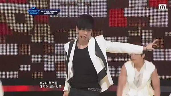 【HD 720p Live】120802 Super Junior - Sexy, Free & Single + SPY (Special Stage) @ M! Countdown - YouTube.mp40477