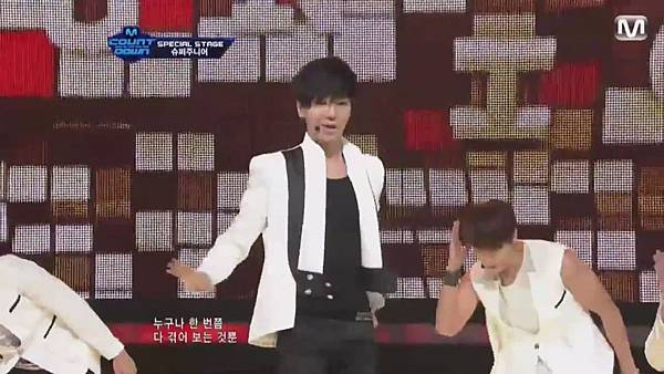 【HD 720p Live】120802 Super Junior - Sexy, Free & Single + SPY (Special Stage) @ M! Countdown - YouTube.mp40635
