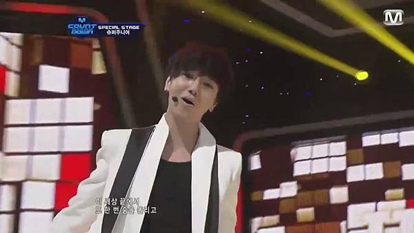 【HD 720p Live】120802 Super Junior - Sexy, Free & Single + SPY (Special Stage) @ M! Countdown - YouTube.mp41067