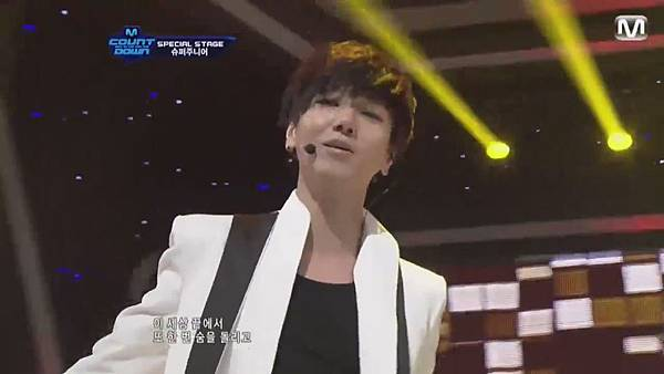 【HD 720p Live】120802 Super Junior - Sexy, Free & Single + SPY (Special Stage) @ M! Countdown - YouTube.mp41079