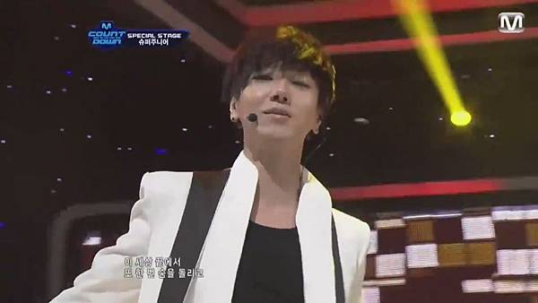 【HD 720p Live】120802 Super Junior - Sexy, Free & Single + SPY (Special Stage) @ M! Countdown - YouTube.mp41082
