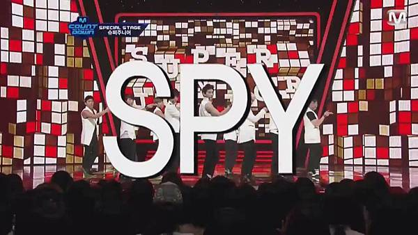 【HD 720p Live】120802 Super Junior - Sexy, Free & Single + SPY (Special Stage) @ M! Countdown - YouTube.mp41784