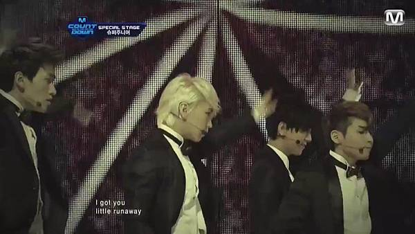 【HD 720p Live】120802 Super Junior - Sexy, Free & Single + SPY (Special Stage) @ M! Countdown - YouTube.mp42038