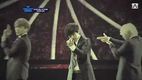 【HD 720p Live】120802 Super Junior - Sexy, Free & Single + SPY (Special Stage) @ M! Countdown - YouTube.mp42343