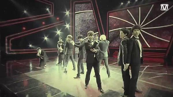 【HD 720p Live】120802 Super Junior - Sexy, Free & Single + SPY (Special Stage) @ M! Countdown - YouTube.mp42419
