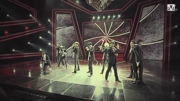 【HD 720p Live】120802 Super Junior - Sexy, Free & Single + SPY (Special Stage) @ M! Countdown - YouTube.mp42504
