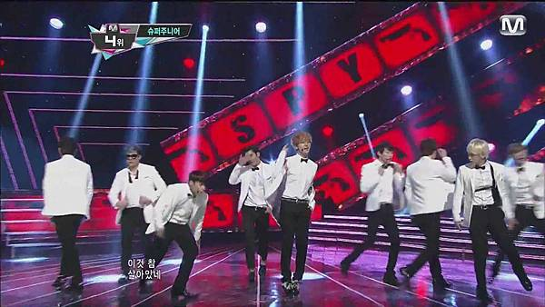 120830 SUPER JUNIOR - Sexy, Free & Single + SPY @ M countdown Special Stage - YouTube.mp40137