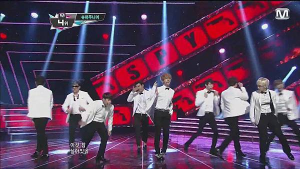 120830 SUPER JUNIOR - Sexy, Free & Single + SPY @ M countdown Special Stage - YouTube.mp40136