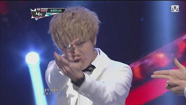 120830 SUPER JUNIOR - Sexy, Free & Single + SPY @ M countdown Special Stage - YouTube.mp40191