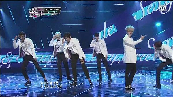 120830 SUPER JUNIOR - Sexy, Free & Single + SPY @ M countdown Special Stage - YouTube[21-08-20]