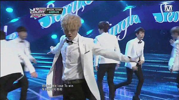 120830 SUPER JUNIOR - Sexy, Free & Single + SPY @ M countdown Special Stage - YouTube[21-08-32]