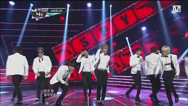 120830 SUPER JUNIOR - Sexy, Free & Single + SPY @ M countdown Special Stage - YouTube[21-11-33]