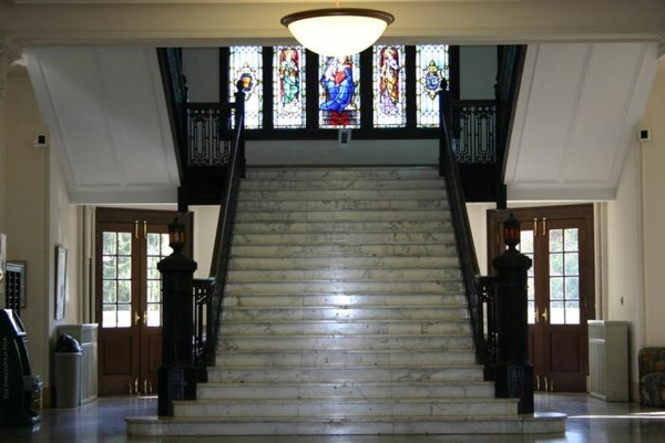 LeFer Hall Steps