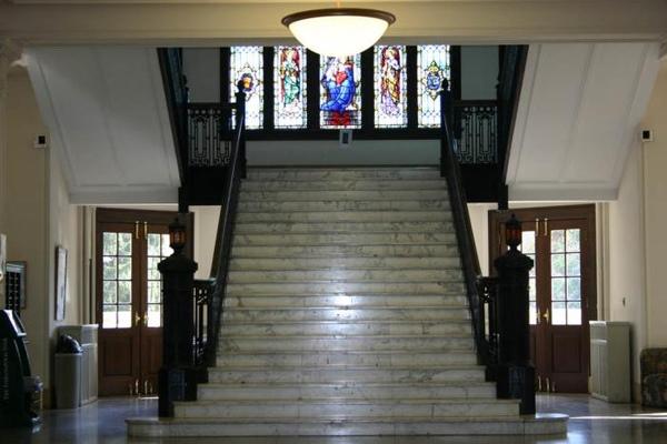 LeFer Hall Steps