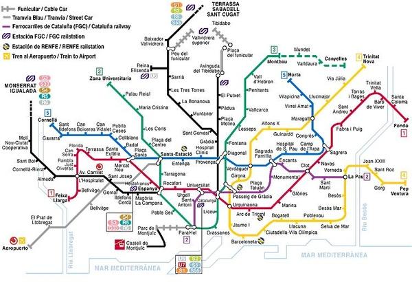 巴塞隆納市區地鐵路線圖.JPG