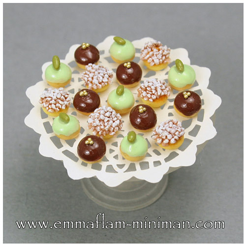 Petits Fours - Chocolate and Pistachio