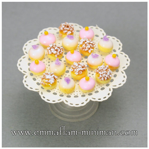 Petits Fours - Pink