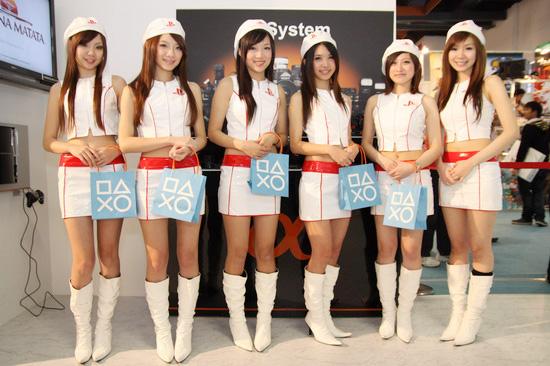 台北電玩展超可愛showgirl