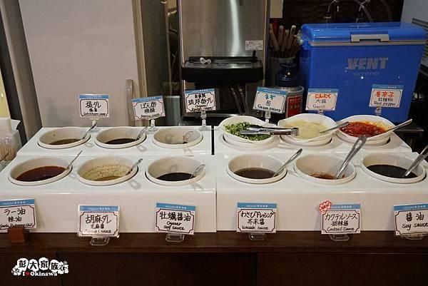 蒸氣海鮮 北谷  醬料