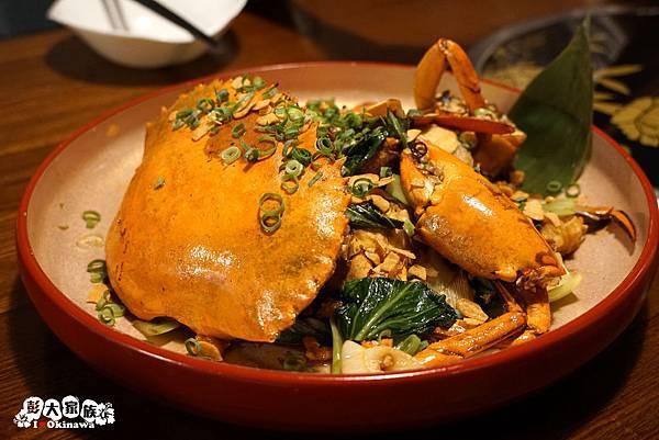 蒸氣海鮮 北谷  香辣蟹
