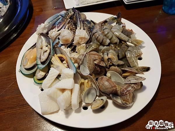 【蒸氣海鮮用餐小撇步】自助餐 Step 3. 海鮮盤