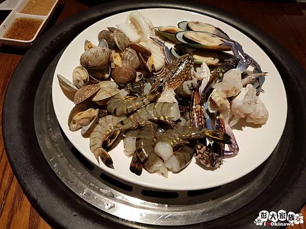 【蒸氣海鮮用餐小撇步】自助餐-海鮮盤