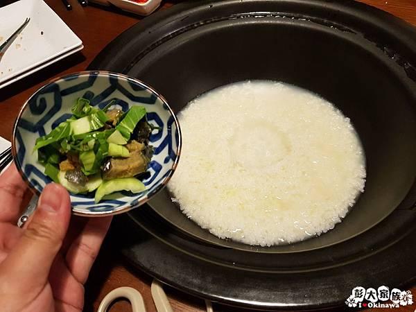 【蒸氣海鮮用餐小撇步】自助餐 -最後煮粥