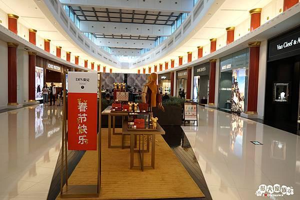 DFS沖縄T廣場-充滿過年氣息的擺設2 20200122.jpg