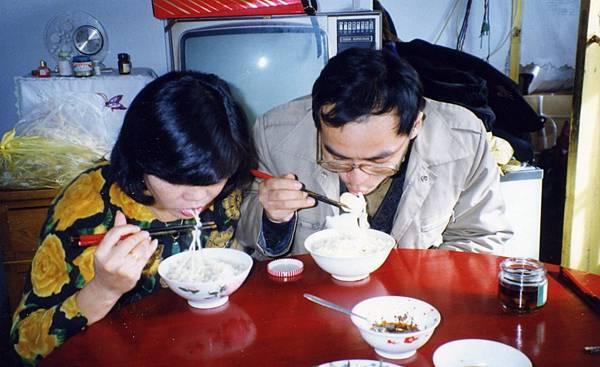 山東老家家吃早餐(老家自製的泡麵).jpg