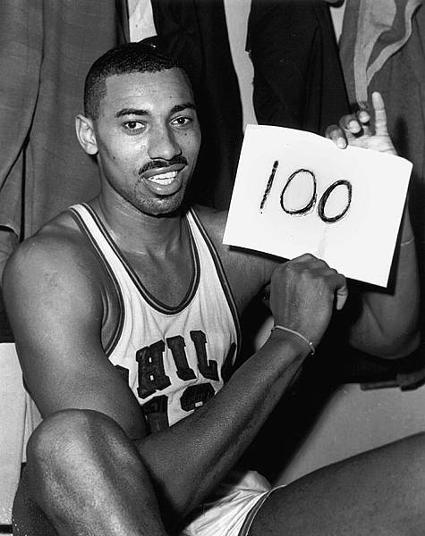 10.Wilt Chamberlain