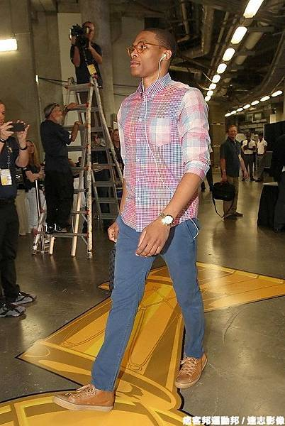 Russell Westbrook 2012年季後賽穿著