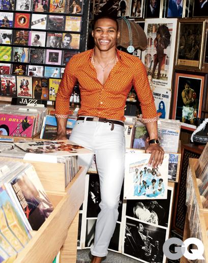 Russell Westbrook 登上 GQ 雜誌