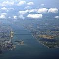 吉野川河口.徳島