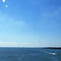 京葉線から見る荒川
