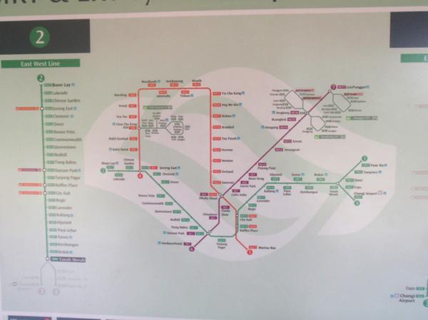 10/25 新加坡地鐵地圖