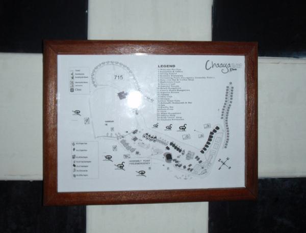 10/27 房門背面的地圖